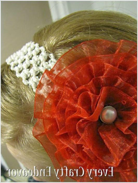 Ободки для волос с цветами.  Headbands hair with flowers.