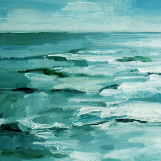 Stormy Sea by Liza Hirst