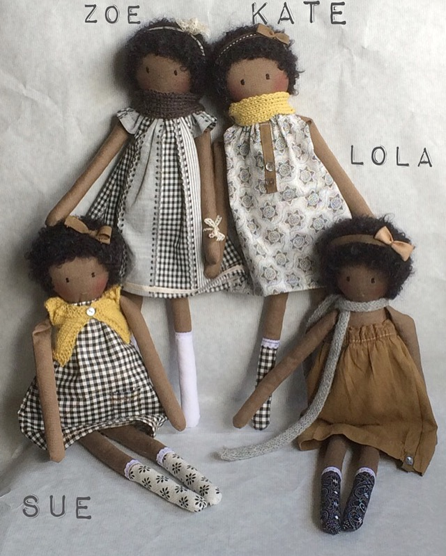 THE black dolls sisters for sale