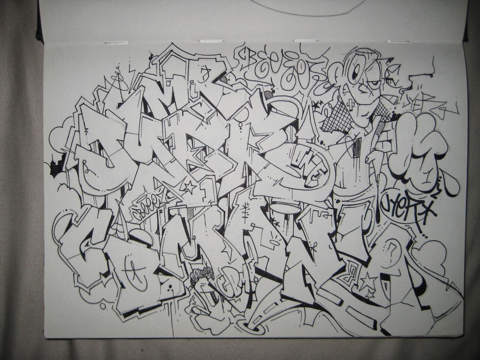 Graffiti creator font flava, digital image editor software  Graffiti Alphabet Flava