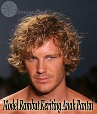 Model Rambut Keriting Anak Pantai
