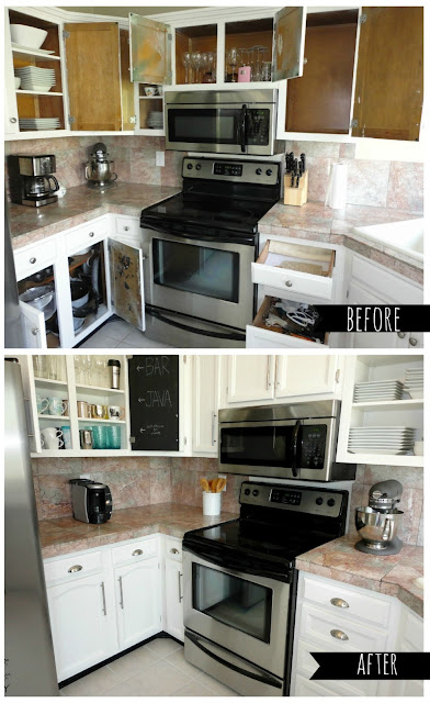 basically painting your kitchen cabinets isn 39 t really that hard it. Black Bedroom Furniture Sets. Home Design Ideas