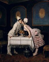 Le baiser, Auguste Toulmouche, 1886