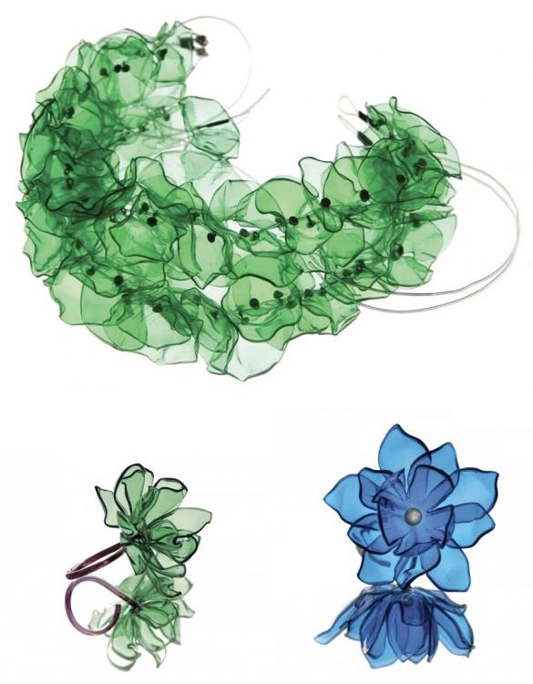 Upcycle us upcycled pet plastic - Plastic bottle jewelry making ...