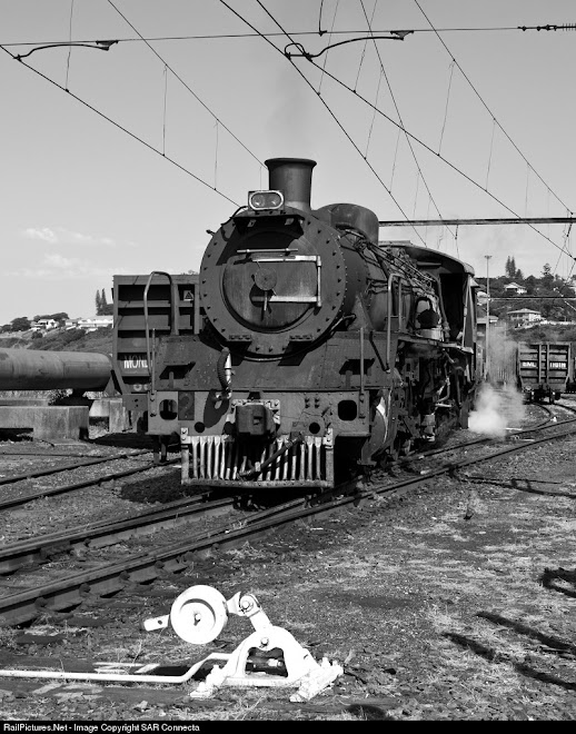 Saiccor No. 2 Ex SAR Class 19D No. 2633