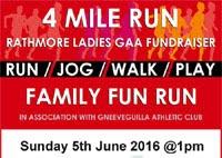 4 mile race in Rathmore, Kerry...Sun 5th June 2016