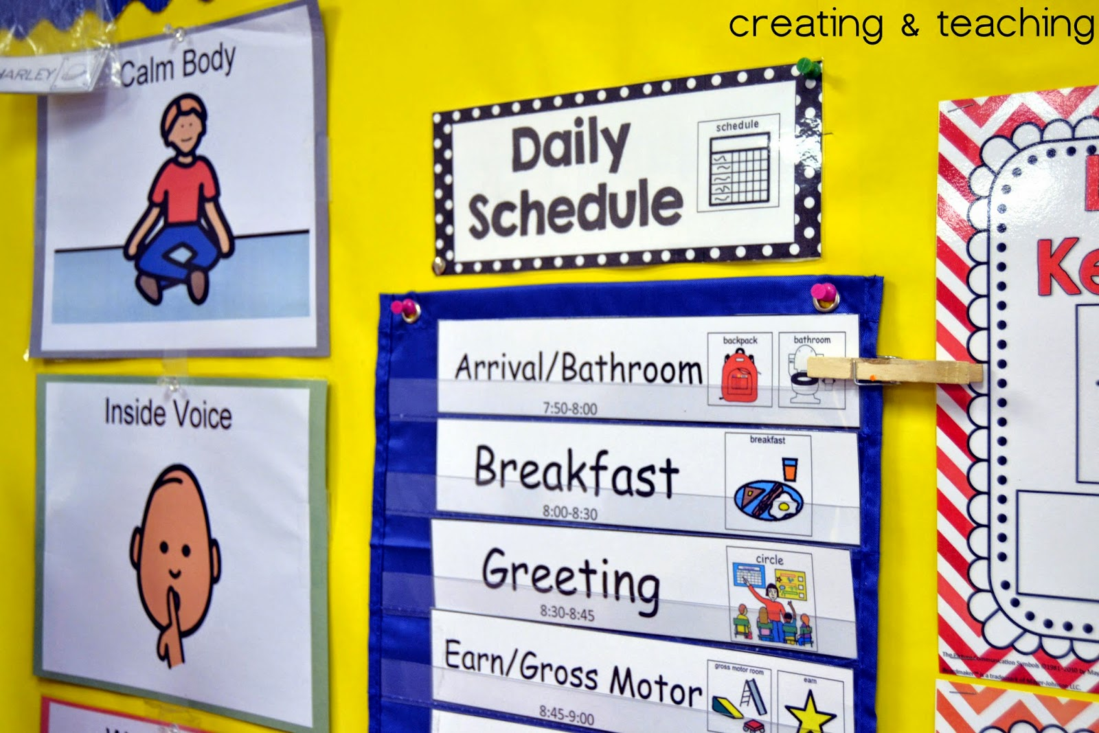 daily schedule pictures