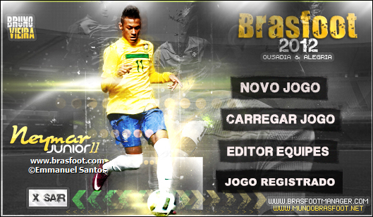 Hoje Nossa Equipe Lan  A Duas Skins Do Neymar Para Brasfoot 2012 Build