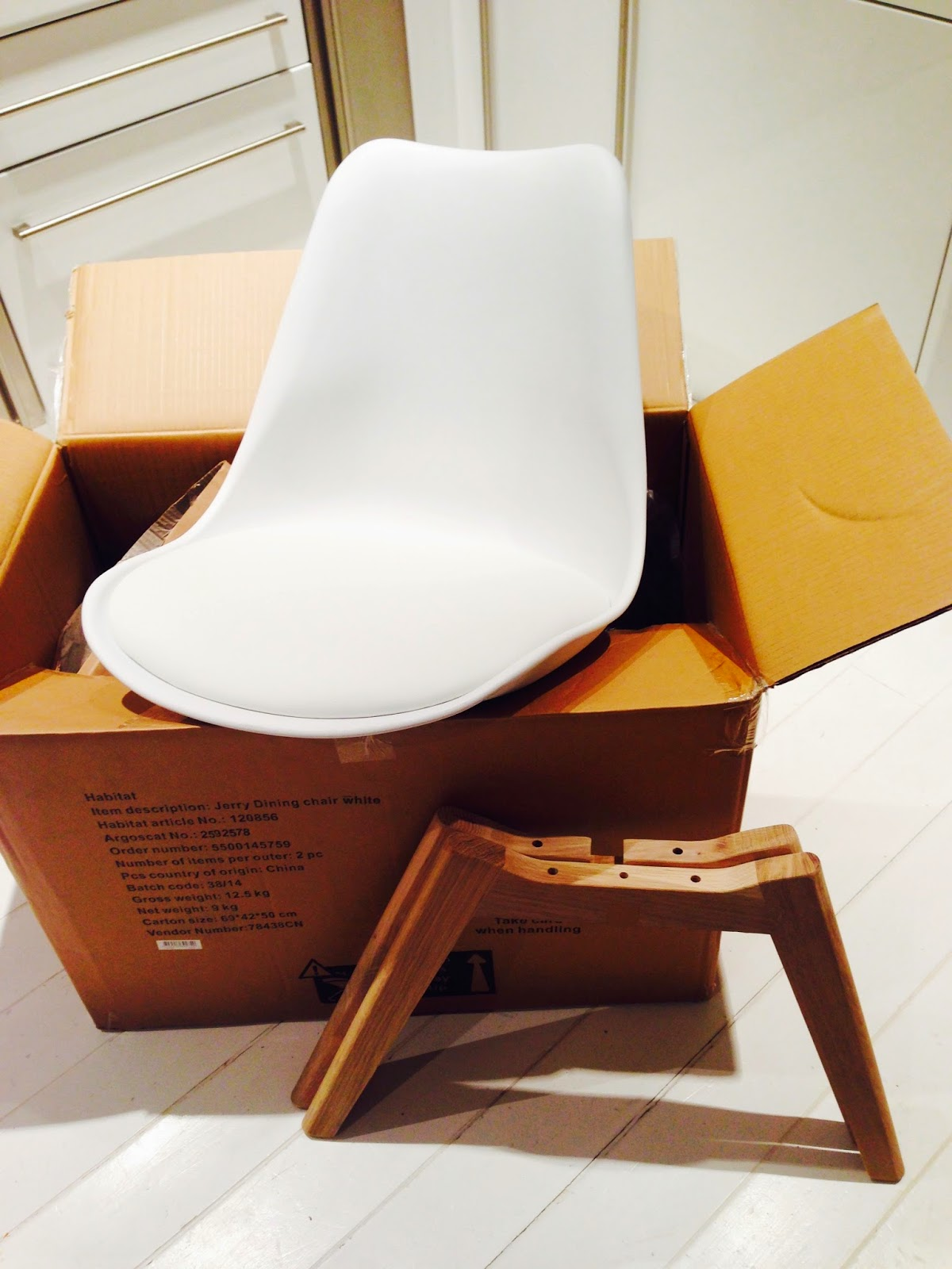 Habitat Jerry Chair and Birchbox Review The White Approach