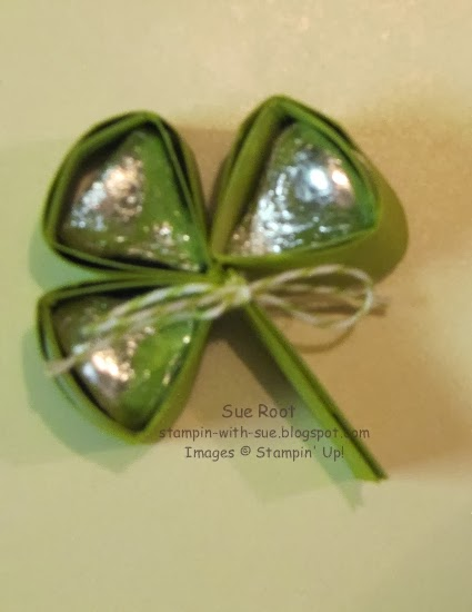 http://stampin-with-sue.blogspot.com/2014/02/hersheys-kiss-shamrock.html