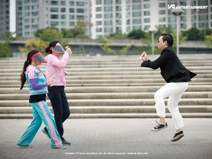 foto PSY Penyanyi Gangnam Style