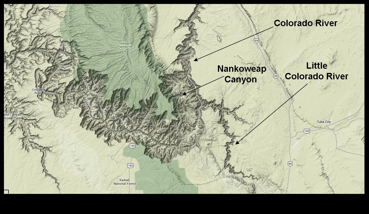 The Mathisen Corollary The geology of the Little Colorado River Gorge