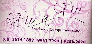 Fio a Fio bordados computadorizados em sobral ceará(88) 3614 1889.