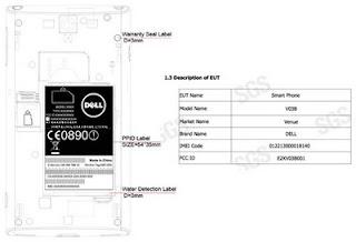 Dell Venue (Thunder) Passes FCC