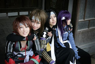 Hakuouki Cosplay by Tasha and Friends