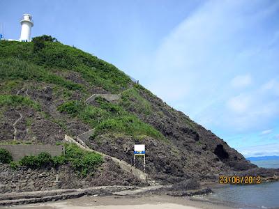 角田山 灯台コース