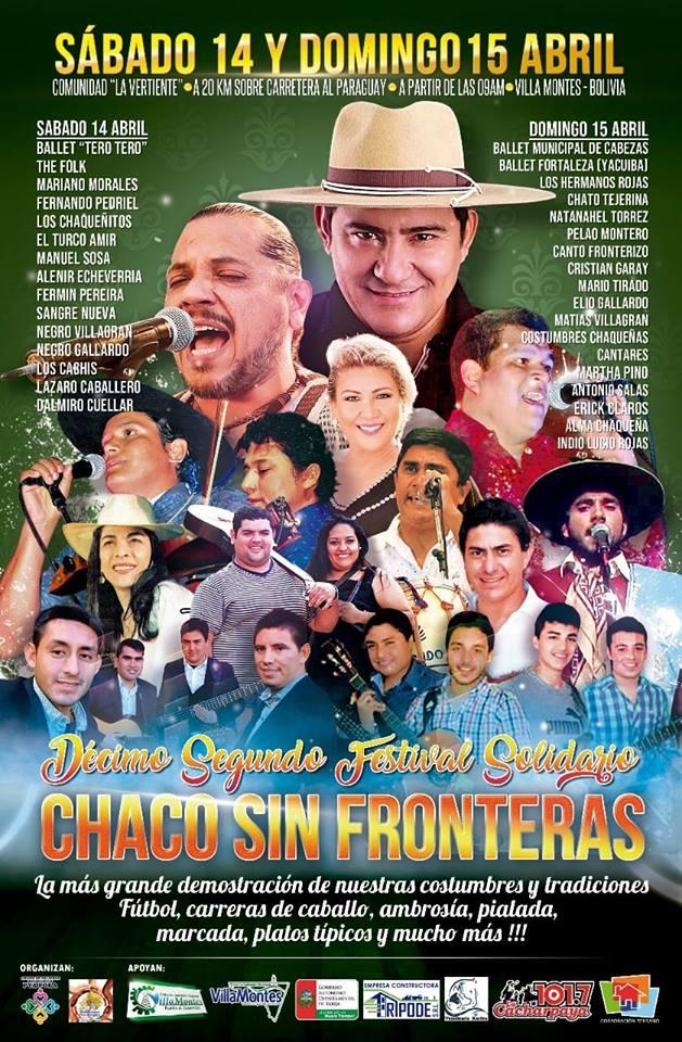 PROXIMA PARADA !!! FESTIVAL SOLIDARIO CHACO SIN FRONTERAS