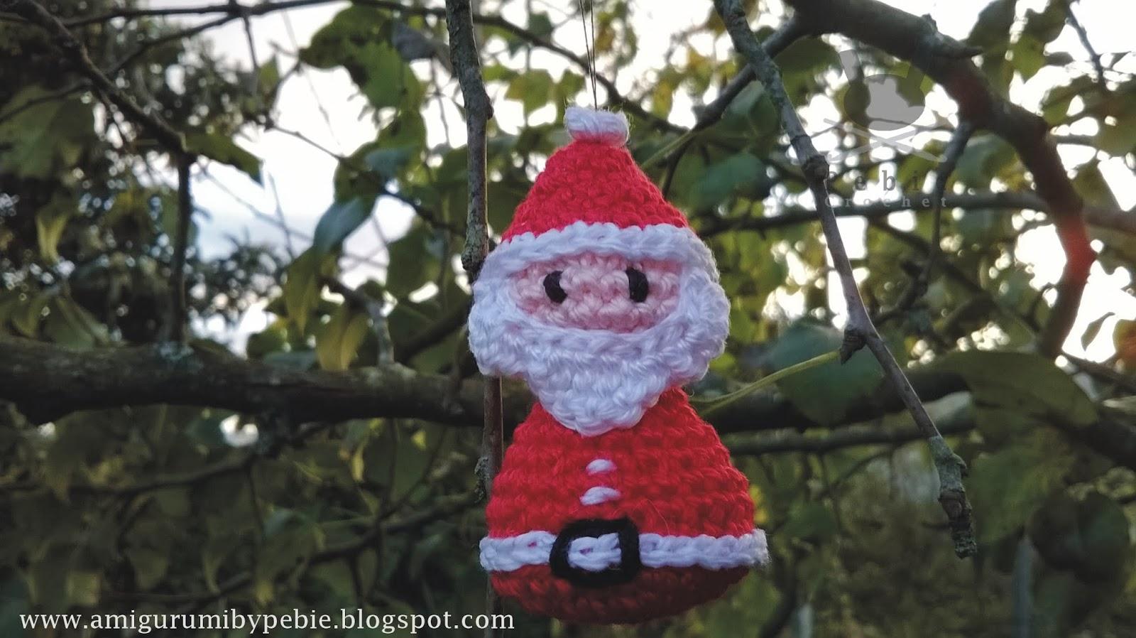 Amigurumi Christmas Decorations : Funny Amigurumi by Pebie: Christmas Ornament I