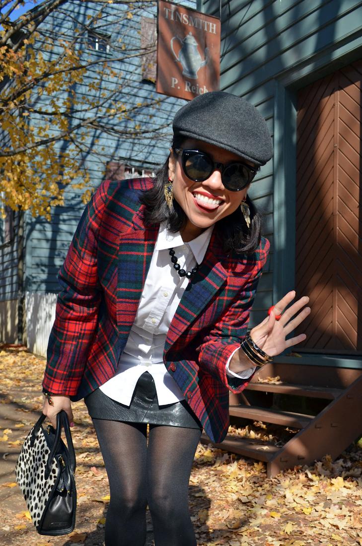 Tartan Trend Street Outfit