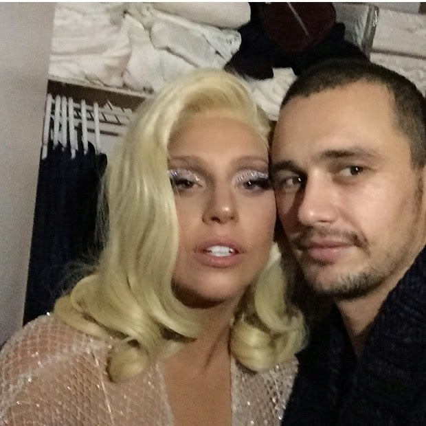 James Franco likes to party with Lady Gaga