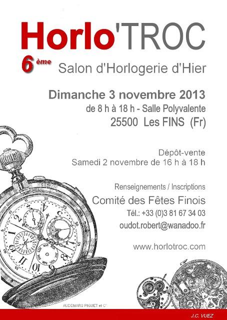 Horlo 39 troc salon de l 39 horlogerie d 39 hier - Salon de l horlogerie ...