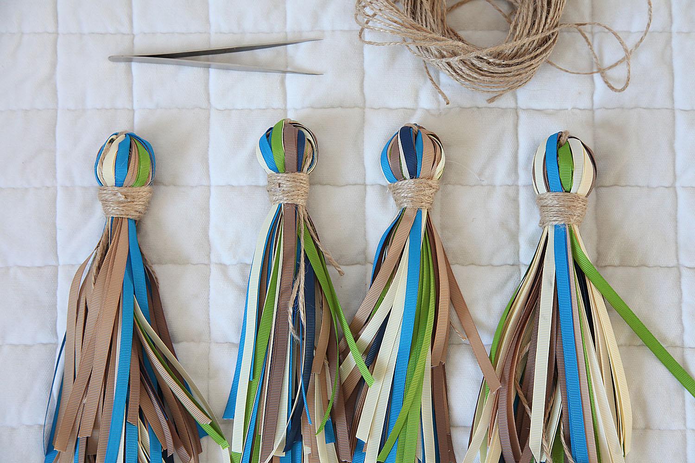 Кисти и стразы для шторы своими руками: фото, видео