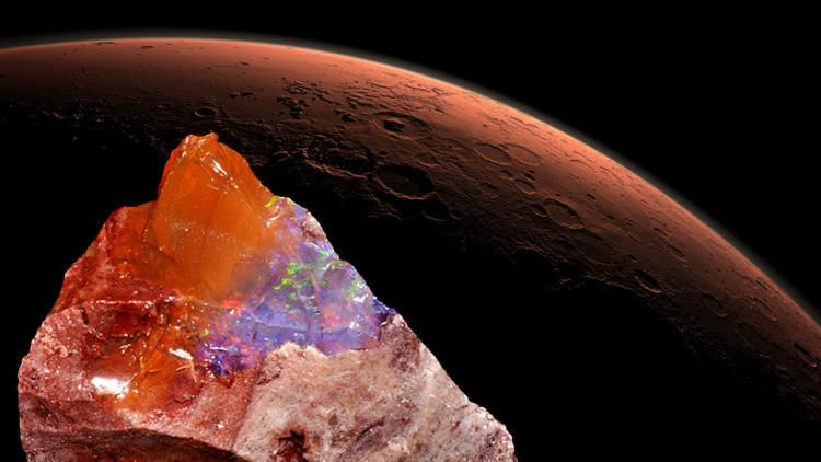 La vida en Marte y las piedras preciosas
