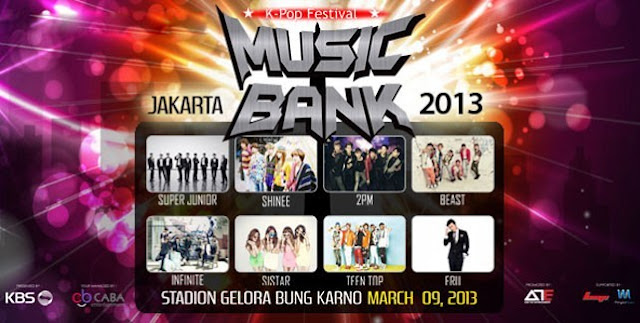 Hal-Hal Unik Saat Konser Music Bank Jakarta