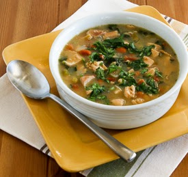 Chicken and Pinto Bean Soup with Lime and Cilantro (Gluten-Free, South ...