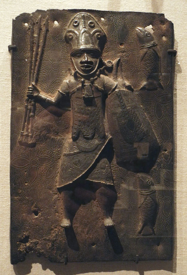 benin plaques Title length color rating : the benin bronzes - this essay deals with the nature of a cross cultural encounter between the benin people and portuguese traders in the 15th and 16th centuries, which resulted in the depiction of portuguese figures in benin brass plaques.