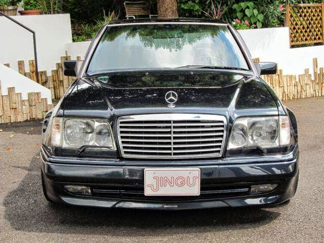 Mercedes benz w124 e60 amg limited edition japan benztuning for Mercedes benz w124 parts