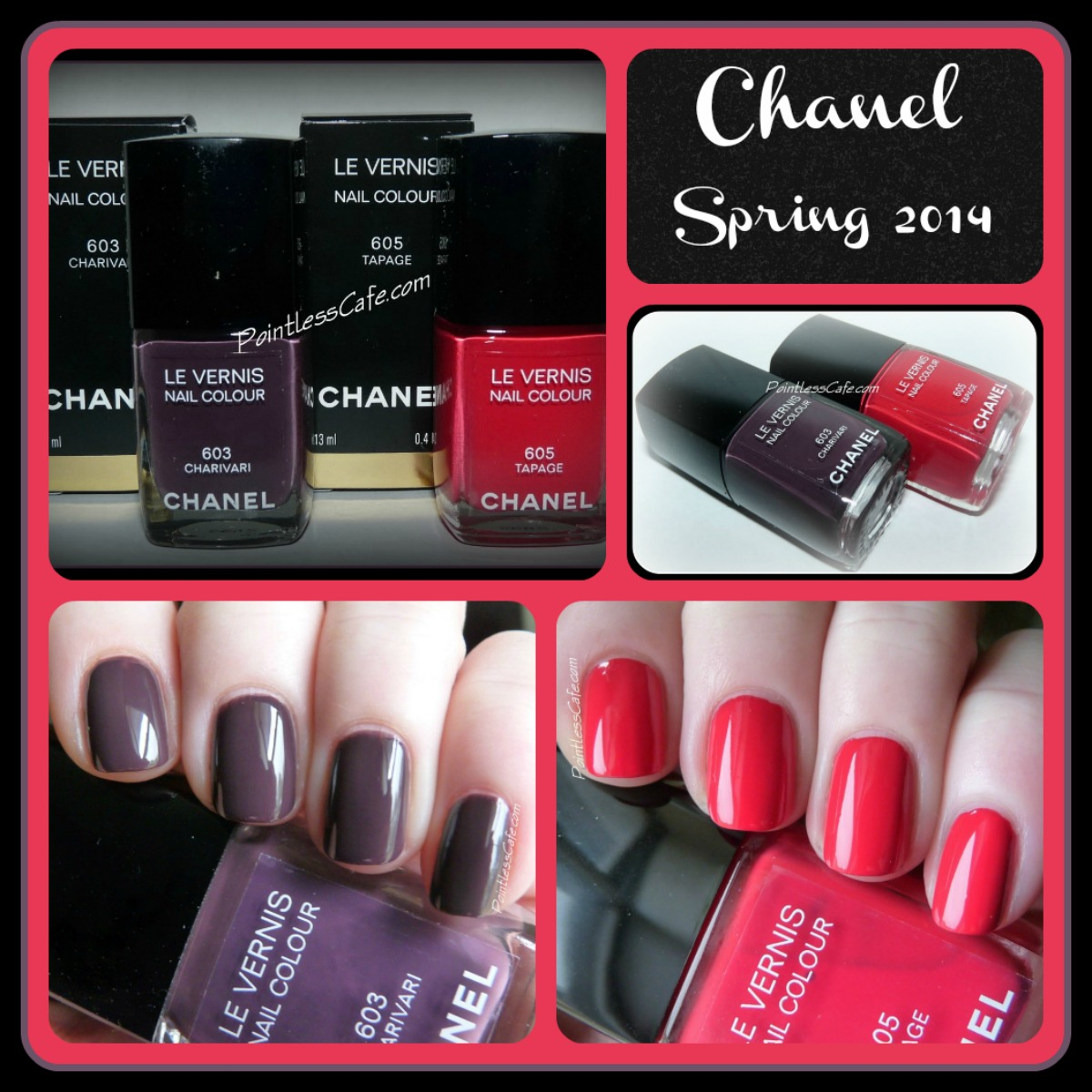 Chanel Spring 2014: Charivari and Tapage - Swatches, Review and ...