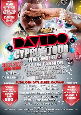 Davido in Cyprus