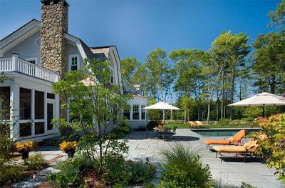 Gambar Desain Taman Indah Rumah Minimalis Modern