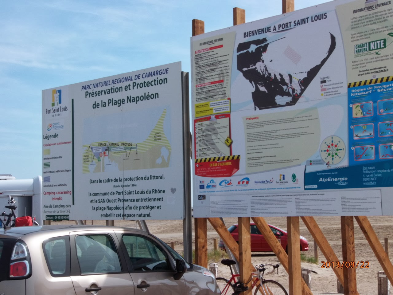Vendanges sur notre route des vendanges 2013 port saint - Plage napoleon port saint louis du rhone ...