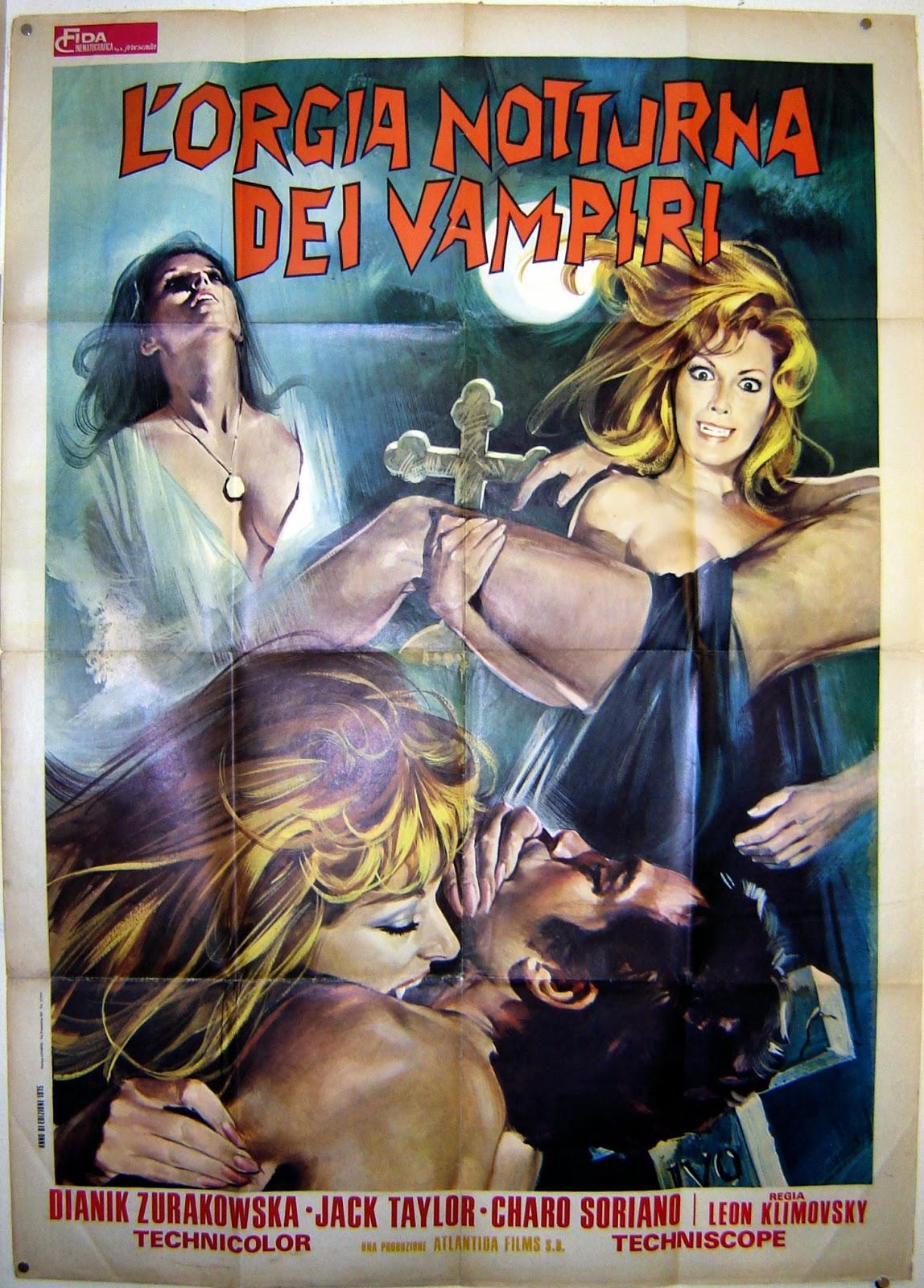 The vampires' night orgy pron scenes