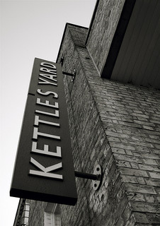 photograph of Kettle's Yard sign