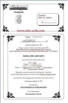 contoh undangan syukuran haji http://selebritiindonesia.info/contoh