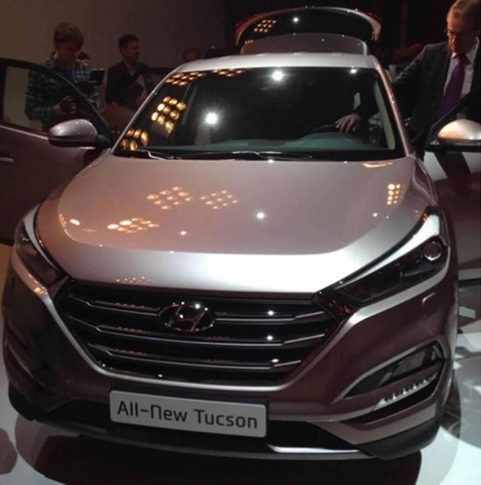 Novo Hyundai Tucson 2016 - frente