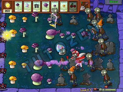 plants vs zombies night stage