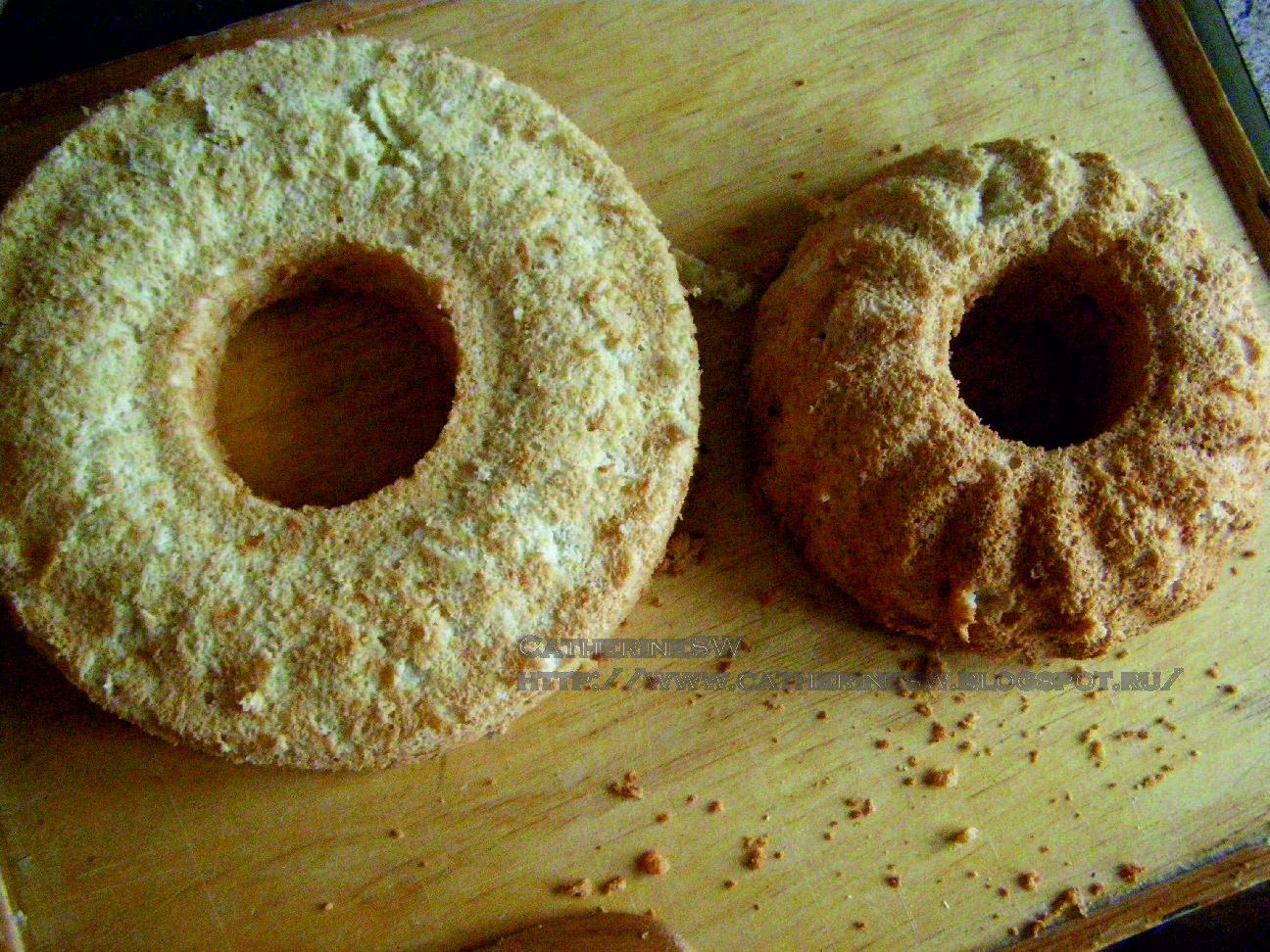 ... с коричневым сахаром (Brown Sugar Angel Food Cake