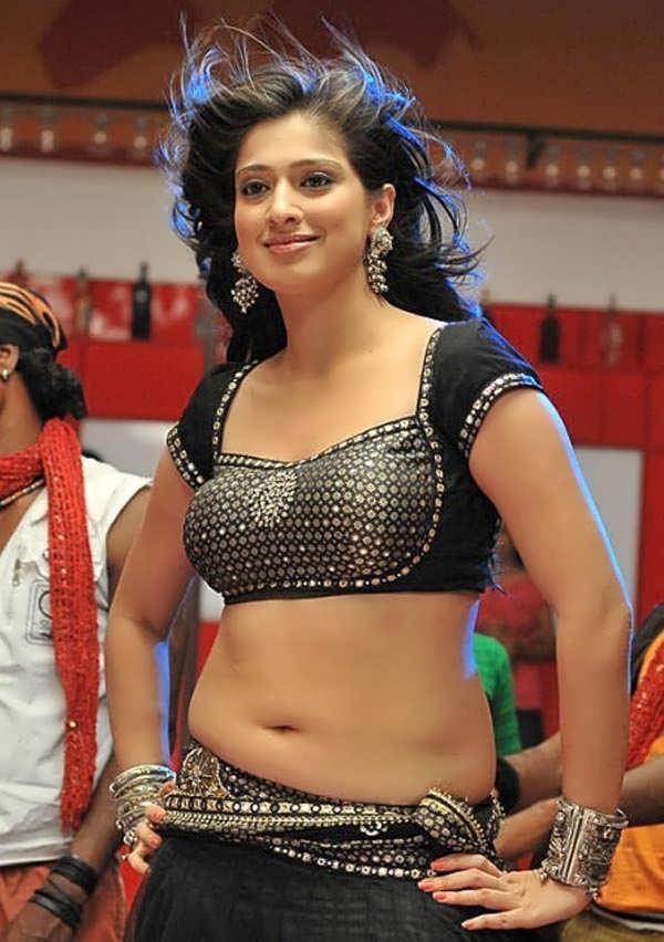 hot dancing Lakshmi rai new hot navel show stills