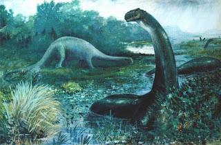 Dinosaurus Apatosaurus