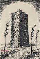 Tempelierstoren voor de Eerste Wereldoorlog van 1914-1918