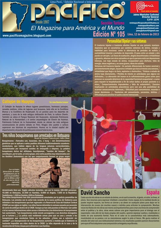 Revista Pacífico Nº 105 Turismo