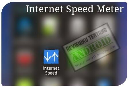 Ikon aplikasi Internet Speed Meter Lite - untuk menampilkan kecepatan internet di status bar Android (rev-all.blogspot.com)
