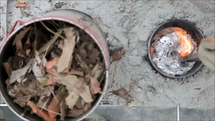 rocket stove fonderie aluminium
