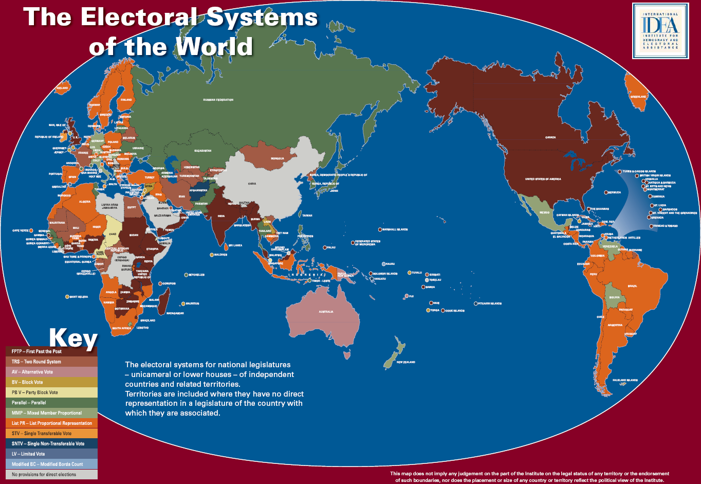 electoral systems Since then there have been alterations to the various electoral systems in use  around the country these alterations have been motivated by.