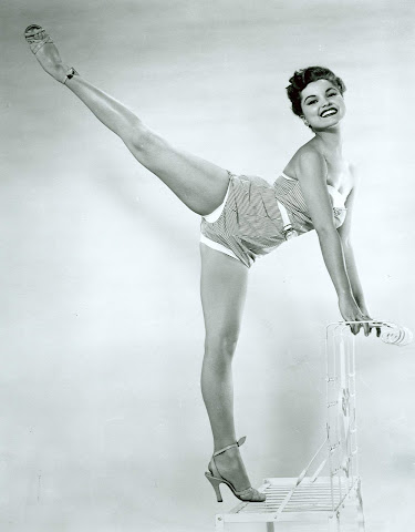 Debra Paget pin up