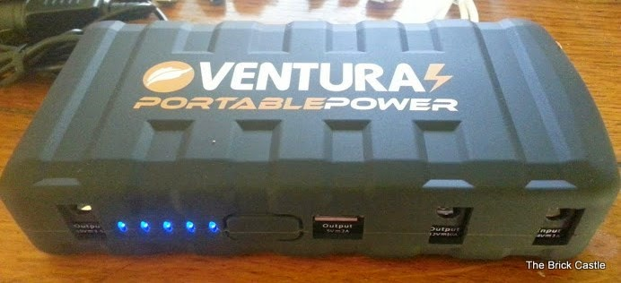 Ventura PB80 portable power powerbank with LED energy display